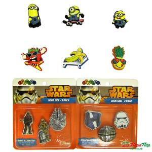 Коллекция Jibbitz Crocs для мальчиков