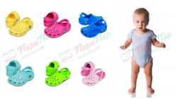 Детские сабо Crocs для самых маленьких
